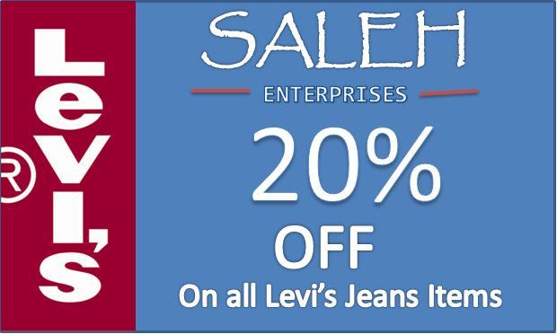 saleh enterprises levis jeans